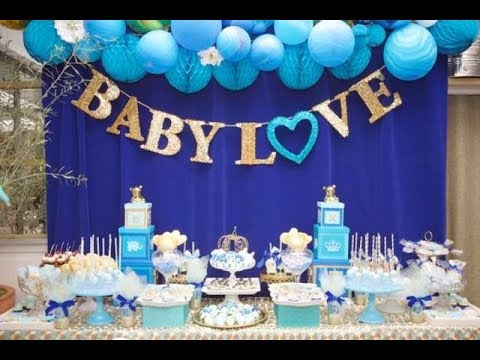 Cute Baby Shower Dessert Table Dcor Ideas YouTube
