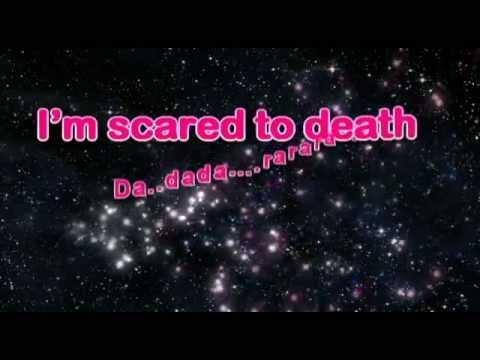 scared to death karaoke with lyrics