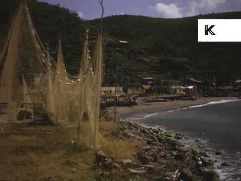 1950s, 1960s Caribbean Cruise Colour 16mm Home Movies