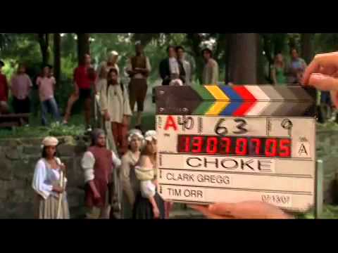 Anjelica Huston - Choke bloopers