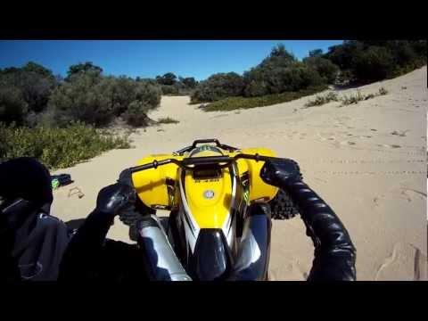 Project Traxxas E-Suzuki LTR450 RC ATV / E-Revo Brushless Edition