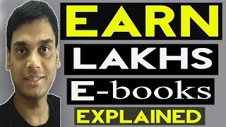 How to Earn from selling E-books Explained | Make money from Amazon kindle | Helping abhi