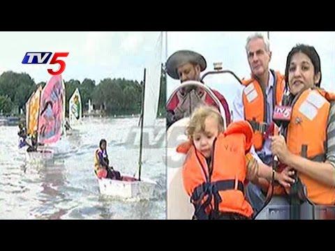 World Water Monitoring Day Celebrations At Hussain Sagar   Hyderabad   Telugu News   TV5 News