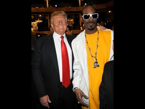 Thumbnail: Snoop Dogg versus Donald Trump