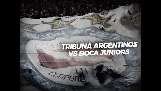 Tribuna Argentinos vs. Boca Juniors