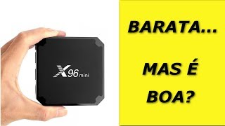 A TV Box X96 Mini é barata.. MAS É BOA? BoA 検索動画 18