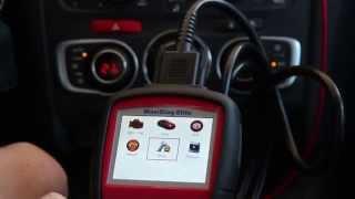 Тест сканера для Американских авто Autel MD703 на французском авто