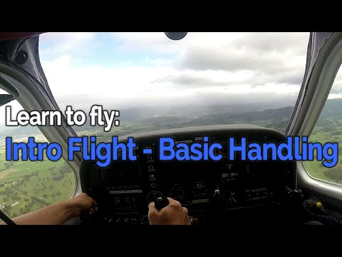 RECREATIONAL PILOT CERTIFICATE: Flying Lesson #1 - Intro Fli