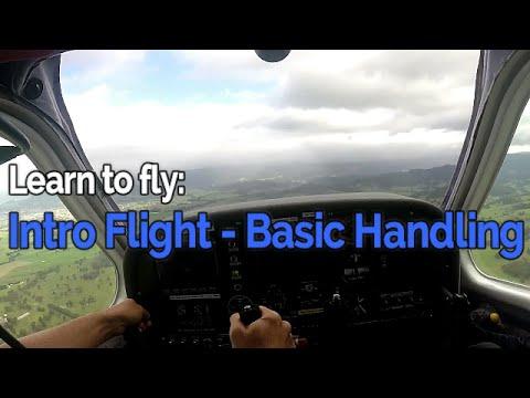 RECREATIONAL PILOT CERTIFICATE: Flying Lesson #1 - Intro Flight - Basic Handling | Audio
