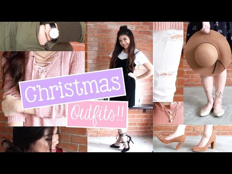 6 Christmas Outfit Ideas! (Old Navy & Uni Qlo Philippines, Payless ++ ) | Janina Vela