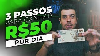 DAY TRADE - COMO GANHAR R$ 50 POR DIA EM 3 PASSOS (sem segredinhos)