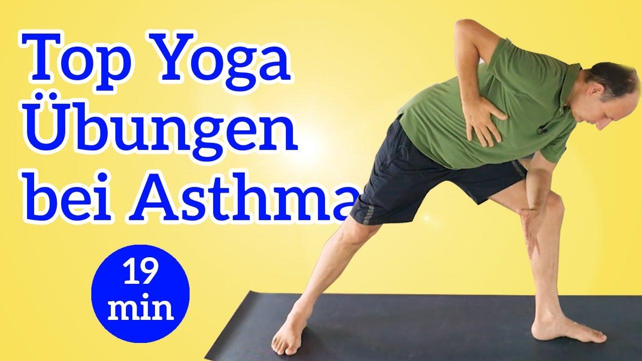 Asthma wirksam lindern mit Yogaübungen
