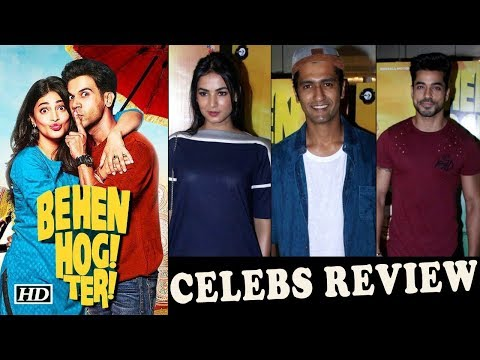 "CELEBS REVIEW : Rajkummar- Shruti Chemistry in ""Behen Hogi Teri ..."