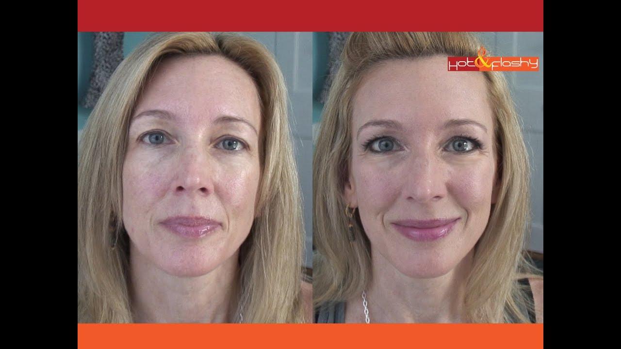Full Face Makeup Tutorial Brighten Up Skin Hooded Eyes