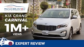KIA Grand Carnival | PakWheels | Review | Specifications | Details | Price | Launched | Pakistan