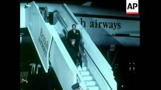 Concorde Inaugural Flight To USA - 1977