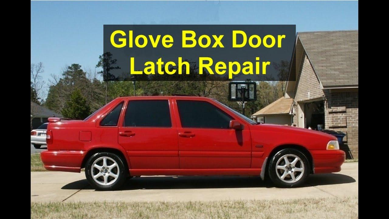 Glove Box Door Handle Repair Broken Handle How To Open Replace Parts Volvo S70 V70 Etc Votd Youtube