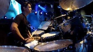Drum Cam de Anderson Karan Ao Vivo com Bruno & Marrone na Bateria