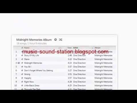 One Direction Midnight Memories Album Download