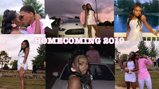 homecoming 2019! (grwm + vlog)