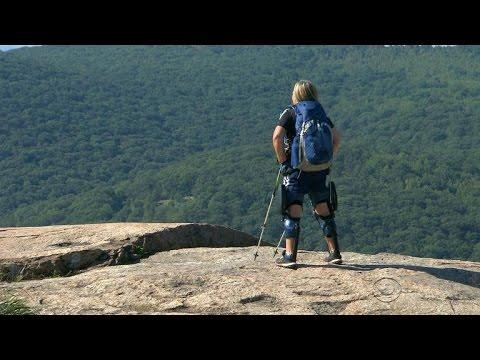 Paralyzed woman halfway through hiking Appalachian Trail