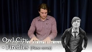 Owl City - Fireflies (Piano cover)