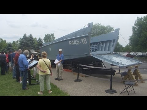 """First Division Museum at Cantigny - LCVP -""""Higgins Boat"""""""