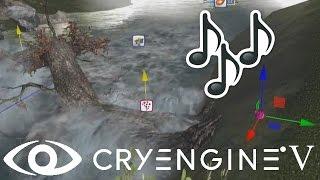 Cryengine V/5#65 Добавление стандартных звуков, аудио, audio, sound