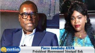 """Sortie avec Pierre Goudiaby ATEPA - Président Mouvement """"Sénégal Rek"""""""