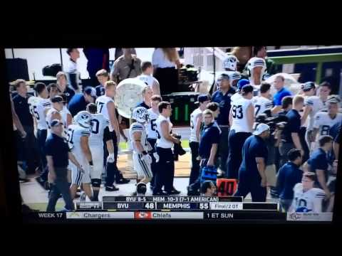 Memphis Tigers vs BYU Full Fight (Miami Beach Bowl)