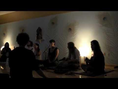 Amba Bhavani Jaya Jagadambe - Stephanie Winn and Friends - Kirtan at Yoga Tree 2012-09-02