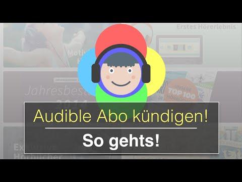 So kannst du dein Audible Abo kündigen (auch Probeabo)