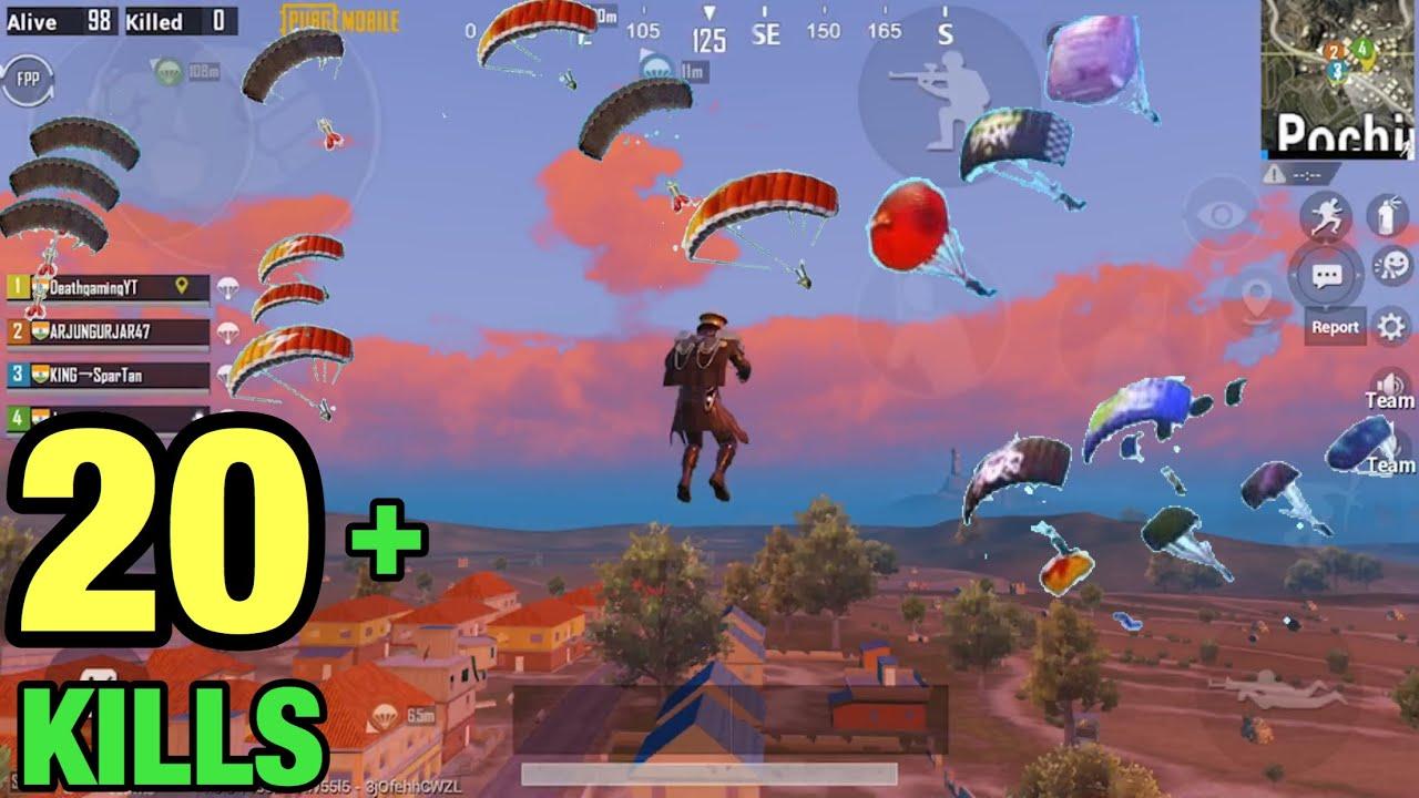 All Enemies in Pochinki PUBG Mobile | Best Landing in Pochinki PUBG