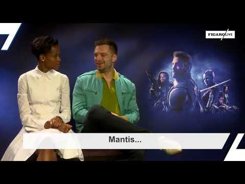 "« Avengers : Infinity War » : ""Le Figaro"" a rencontré Letitia Wright et Sebastian Stan"