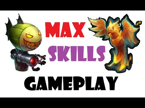 MAX Skills PET Gameplay Finix Doom Balloon Castle Clash