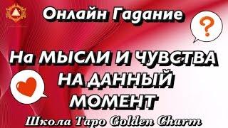 ГАДАНИЕ НА МЫСЛИ И ЧУВСТВА НА ДАННЫЙ МОМЕНТ /Tarot divination/ Школа Таро Golden Charm