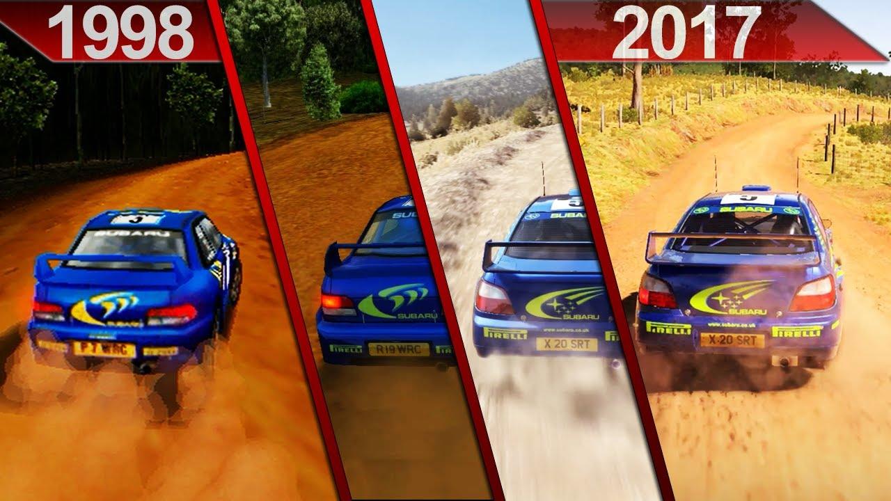 Evolution Of Colin McRae Rally / DiRT
