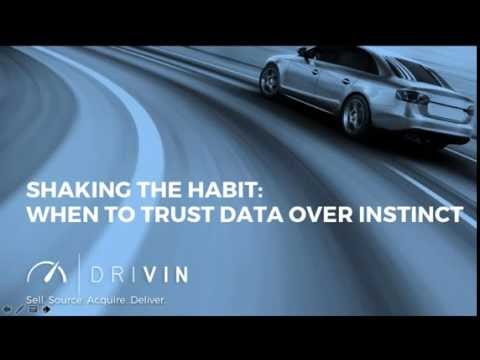 Shaking the Habit  When to Trust Data Over Instinct