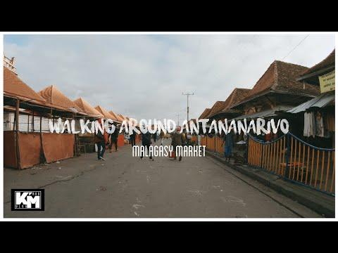 Walking around in Antananarivo // Malagasy Market // Madagascar [part2] アンタナナリボを歩く•マダガスカル市場