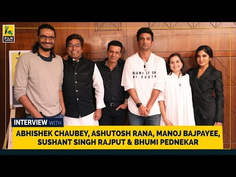 Manoj Bajpayee, Ashutosh Rana, Sushant Singh Rajput, Bhumi Pednekar & Abhishek Chaubey | Sonchiriya Mp3