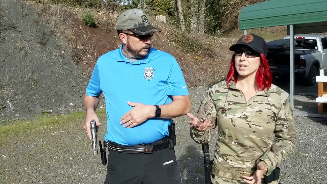 Range Day With Instructor Woody Little in Dundee Oregon