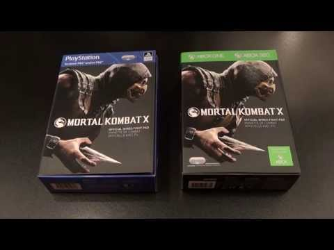 Mortal Kombat X Official Fight Pad For PS4/Xbox One/PS3/Xbox 360/PC