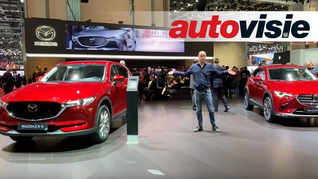 Mazda CX-30 dicht gat tussen CX-3 en CX-5 - Autosalon van Genève 2019