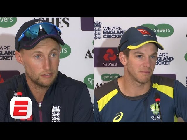 Joe Root and Tim Paine react to England's historic third Test win | 2019 Ashes
