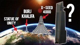 इंसान कितना ऊँचा कुछ बना सकता है ? | How high can we build ? | Tallest thing Human can ever Build ?