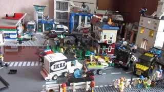 Мой lego город. Обновление #3///My Lego City: update #3!