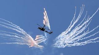 Авиадартс-2016. Беркуты. Одиночный пилотаж на вертолёте Ми 28Н Ночной охотник