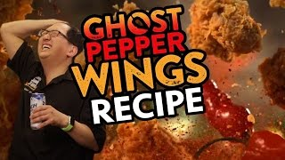 DIY Popeye's Ghost Pepper Wings