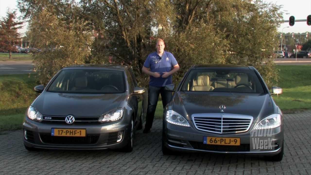 Verbruiktest mercedes s250 cdi en vw golf gtd english for Mercedes benz s250