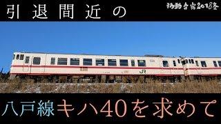 【完乗の旅#63】引退間近の八戸線キハ40と新型キハE130を乗り比べてきた